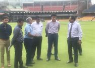 sourav ganguly visit bcci land near bengaluru after rahul dravid meet