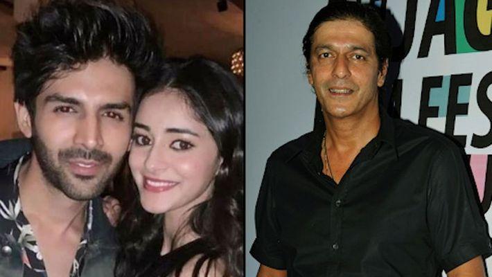Ananya Panday's father Chunky Panday warns Kartik Aaryan, here's what he said (Watch)