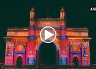 FIFA reveals Under 17 women's world cup emblem at Gateway of India