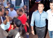 Sooraj pancholi gets mobbed by fans