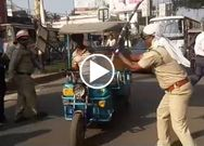 Police drive in Burdwan to control unruly Totos