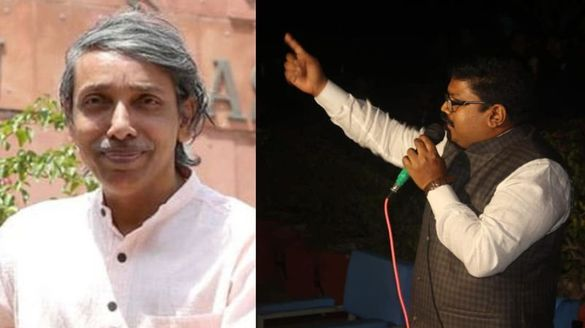 CPM mp kk Ragesh Slams JNU Vice Chancellor