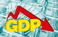 gdp down says business