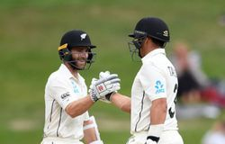 Ross Taylor and Kane Williamson