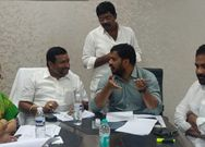 Minister Anil Kumar meeting with Endoment Minister