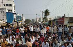 amaravathi farmers protest