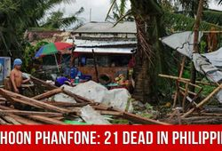 DePress Room | Typhoon Phanfone: 21 Dead In Philippines