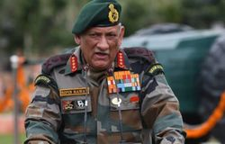Bipin Rawath Commander-in-Chief of the Armed Forces