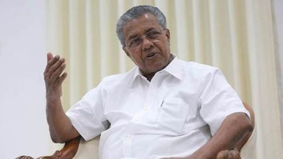 pinarayi vijayan donate one lakh for chief minister relief fund