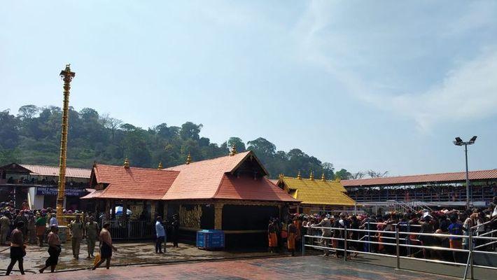Sabarimala Ayyappa devotee test covid positive