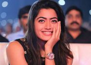 Kannada actress Rashmika Mandanna gets curious about dog food