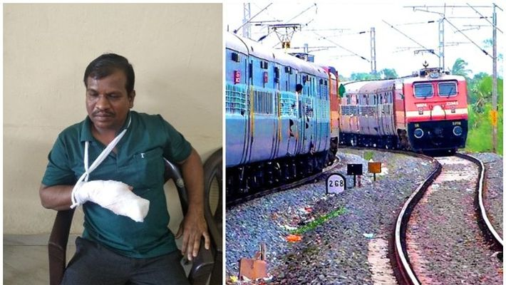 tte attacked by passenger in ernakulam division of railways