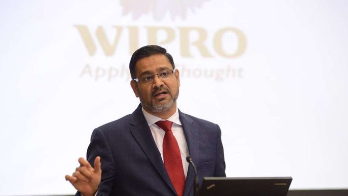 wipro company ceo abidali z neemuchwala resigned to his post due to family reasons
