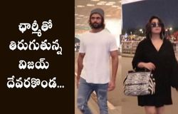 Vijay Deverakonda, Deepika Padukone snapped at Mumbai airport