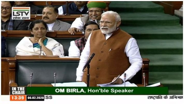 Narendra Modi speech on caa parliament