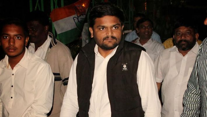 Hardik Patel appointed as working president of the party's Gujarat state unit