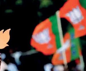 mysterious person threw egg in bjp worker's shop