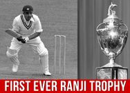 Indian Cricket Highlights The First Ever Ranji Trophy 1934