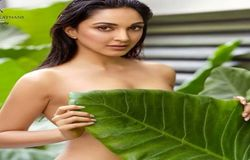 Kiara Advani's photo from ace Bollywood photographer Dabboo Ratnani's calendar 2020 went viral on social media. She was seen topless with a leaf in the picture.