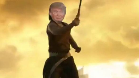 Trumps Baahubali teaser out: US President shares video ahead of India visit
