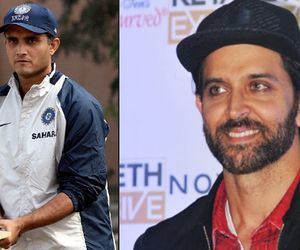 will Hrithik Roshan play the role  of sourav Ganguly's Biopic