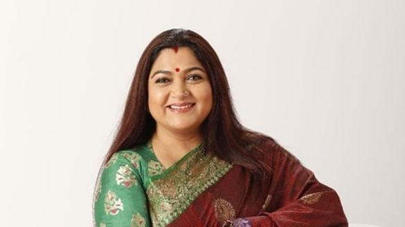 Actress Kushboo beat PM Modi If the lamp is on, don't hit people outside.