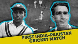 Who Won The First Ever India vs Pakistan Cricket Match