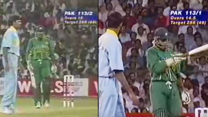 On this day 24 years ago, Indian cricketer Venkatesh Prasad taught Pakistani cricketer Aamer Sohail a lesson