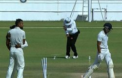 Umpire Injury Ranji