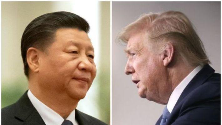 american president Donald trump criticized  china regarding corona