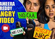 Actress Sameera reddy releases an angry video.