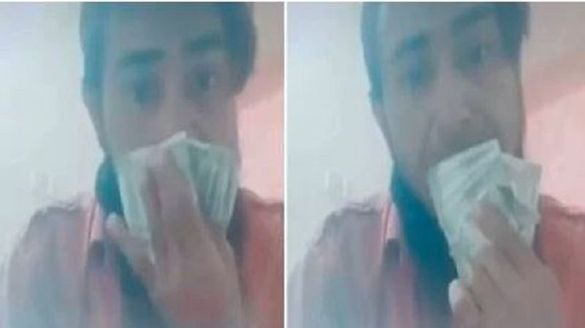 Coronavirus outbreak: Nashik Police arrest man wiping nose and mouth with currency notes