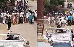 Karnataka Police injured after objecting to people gathering for public namaz defying lockdown orders