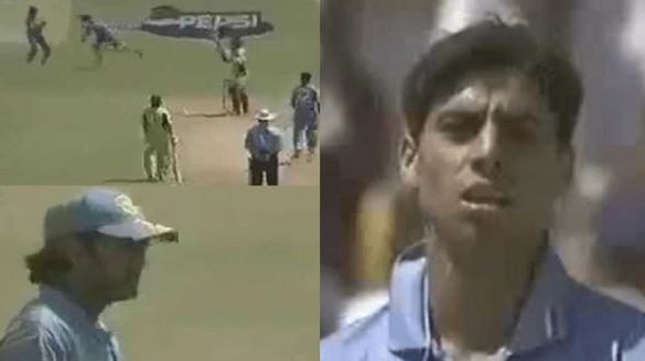 ashish nehra not proud of himself for lost cool against young dhoni in 2005 match against pakistan