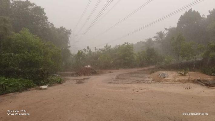 Heavy rain lashes in udupi water enters many house