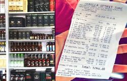 <p>Liquor bill kar</p>