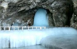 <p>Amarnath Yatra, Baba Barfani, Corona in Jammu and Kashmir, Baba Barfani photo<br /> &nbsp;</p>