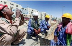 <p>migrant workers gulf</p>