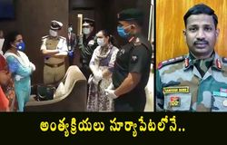 <p>Wife of Colonel Santosh Babu received at<br /> Shamshabad airport in Hyderabad by<br /> cpcybd<br /> <br /> Sajjanar</p>