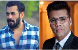 <p>Salman Khan and Karan Johar</p>