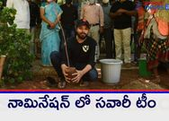 ActorNandu accepted the greenindiachallenge  given by IamVithikaSheru, planted 3 saplings