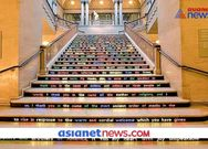 473 words of swami Vivekananda speech written on stairs KPZ