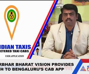 Karnataka PM Modis Atmanirbhar Bharat vision helps startups Indian Taxi app