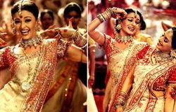 <p>She danced non-stop and did her best, and when she had completed her dance moves, the crew members came to know about her bleeding ears. On the other hand, Madhuri was pregnant during the shooting of the song.</p>