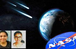 <p><br /> NASA confirms the finding of an near Earth asteroid by two Gujarat school girls BAL</p>  <p></p>