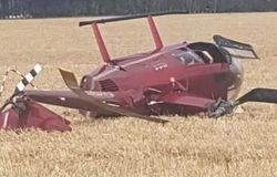 <p>Helicopter Crash</p>