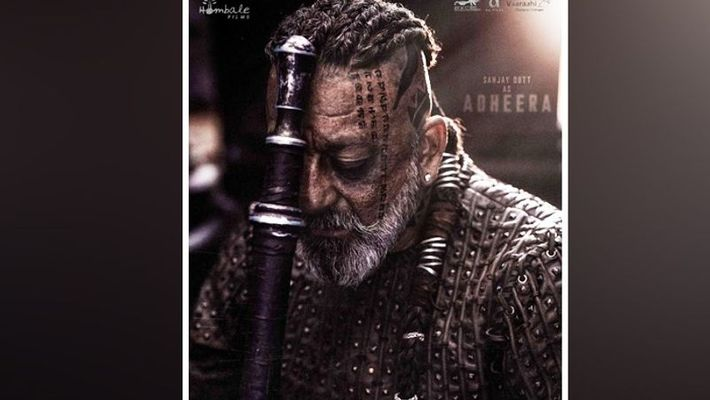 KGF Chapter 2 Sanjay Dutt character Adheera unveiled on his birthday