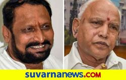 <p>Laxman savadi and BS Yediyurappa</p>