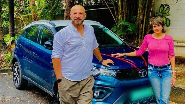Mandira Bedi recently added a brand new Tata Nexon EV to her garage