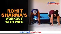 Rohit Sharma's workout video with wife Ritika Sajdeh goes viral - gps